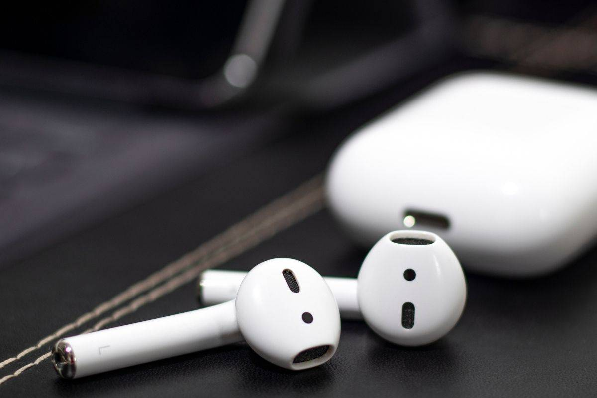 AirPods on a Table