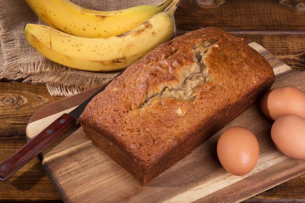 Picture of a Banana Bread