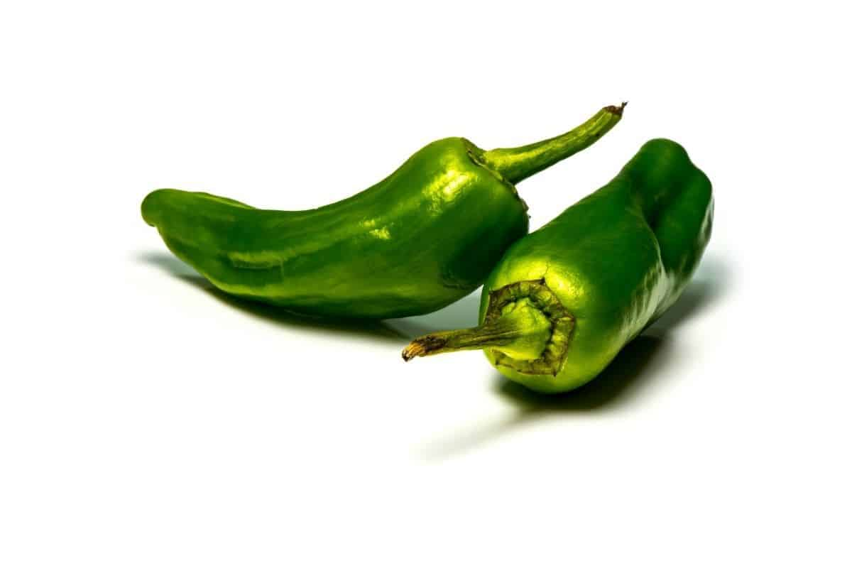 two green Jalapenos