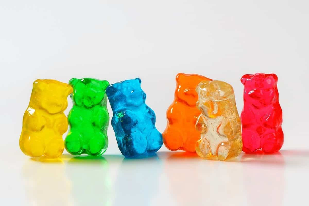 Gummy Bears in different colors